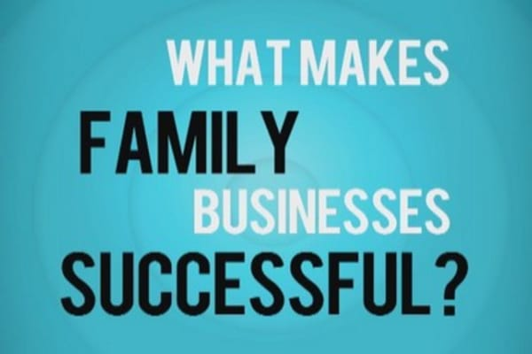 What makes a family business successful?