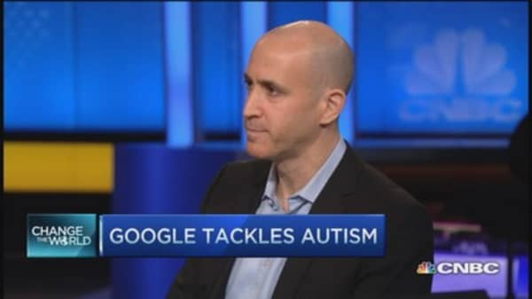 Google joins race to cure autism