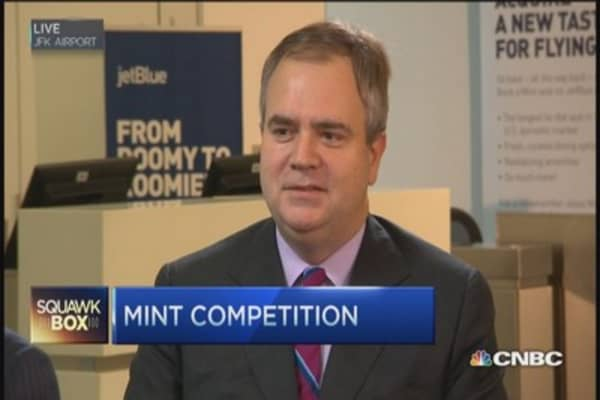 JetBlue sees great potential in Mint Class