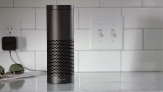 An Amazon Echo
