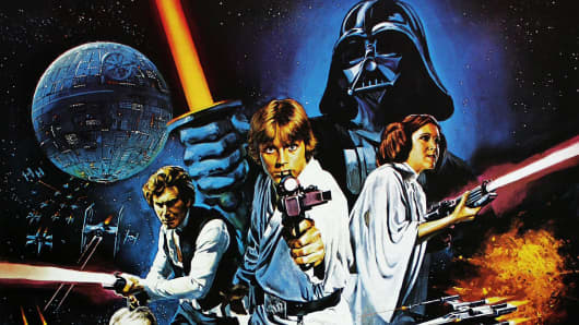 """A poster for the original 1977 film """"Star Wars."""""""