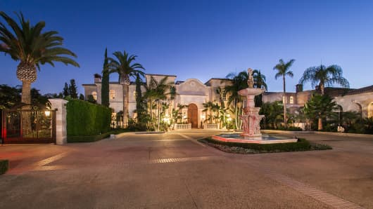 The Palazzo di Amore in Beverly Hills, Calif., which is listed for $195 million.