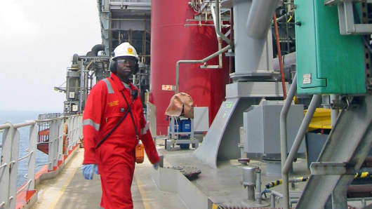 Nigerian oil facility