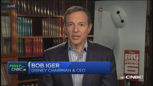 Bob Iger: Q4 driven by across the board success