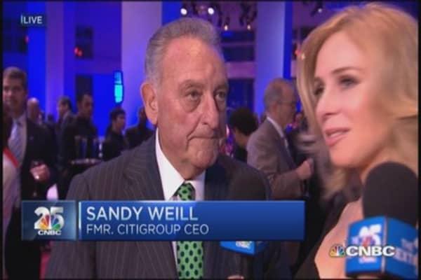 CNBC 25 Gala red carpet access: Sandy Weill