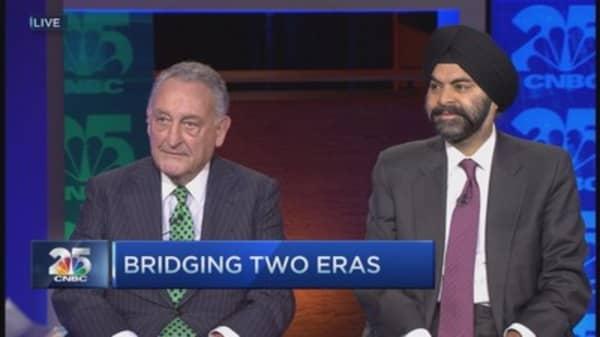 CNBC 25: Bridging two eras