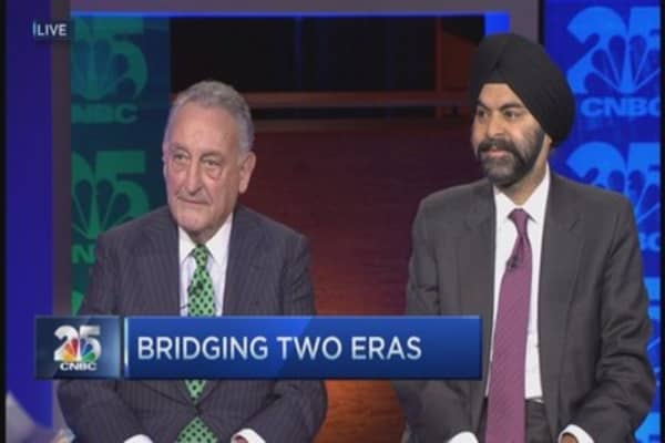 CNBC 25: Bridging two eras