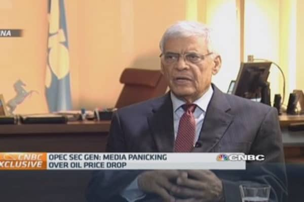 'Relax': OPEC chief on falling oil price