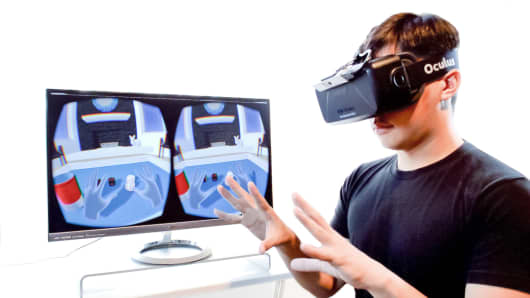 Nimble Sense's Skeletal virtual reality software