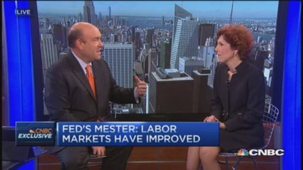 Loretta Mester:  Fed's not behind the curve