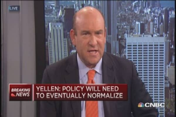 Yellen: Normalization could create more volatility