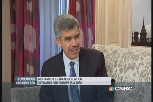 El-Erian: Deflation scenario for Europe a 'risk'