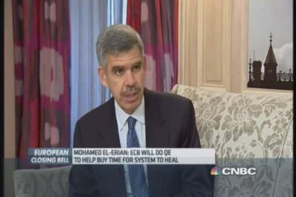 El-Erian: Europe QE buys time for policymakers