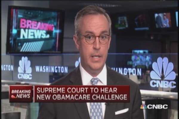 Supreme Court to consider Obamacare subsidy issue
