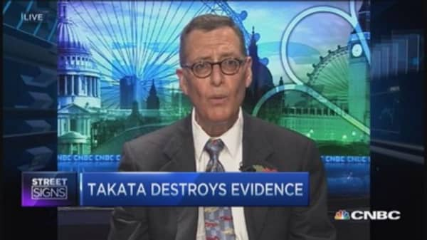 Takata Corp: Airbag cover-up allegations
