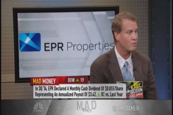 EPR Properties CEO: Industries very healthy