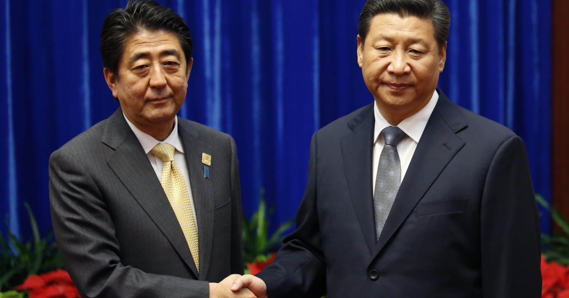 Japan needs China's business and pacified US-China relations
