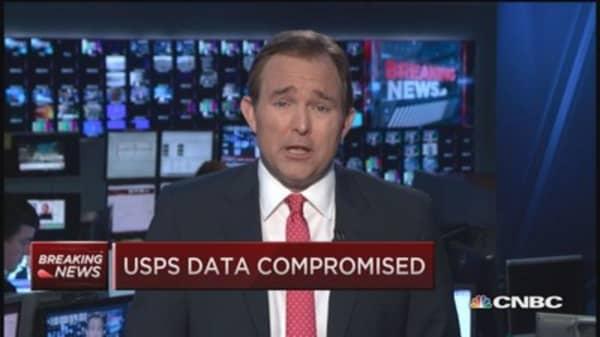 USPS data compromised: Report