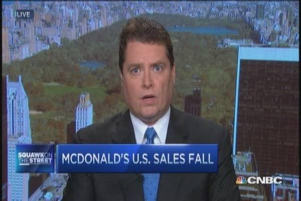 Where McDonald's is making progress