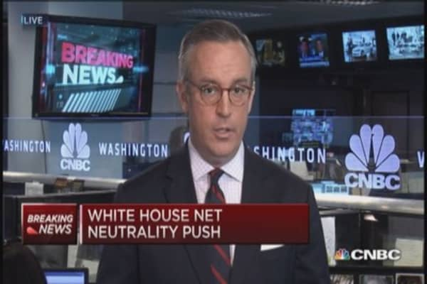 WH net neutrality push: Key points