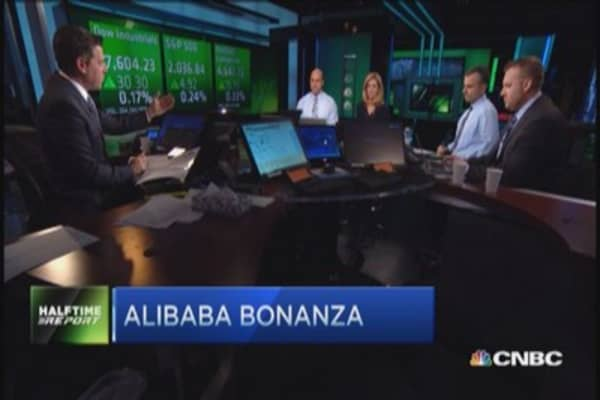 Alibaba: Traders impressed