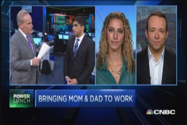 LinkedIn: Bring mom & dad to work