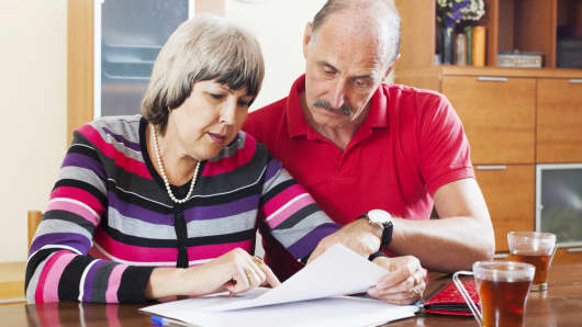 Senior couple financial planning