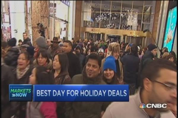 Best day for holiday deals