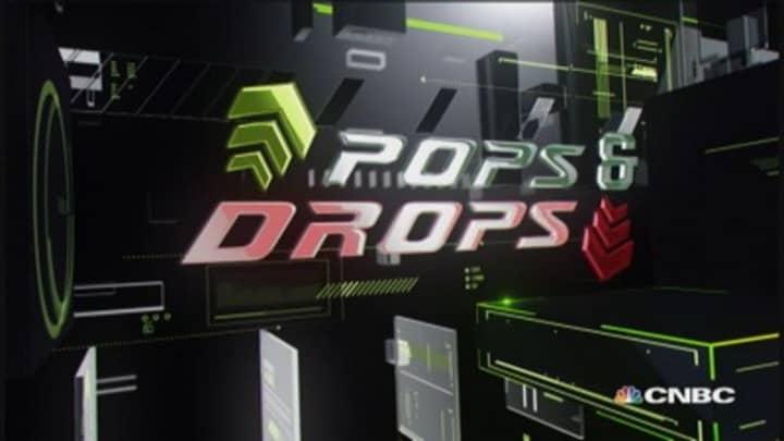 Stock Pops & Drops: TOL, FEYE, GM & DDD