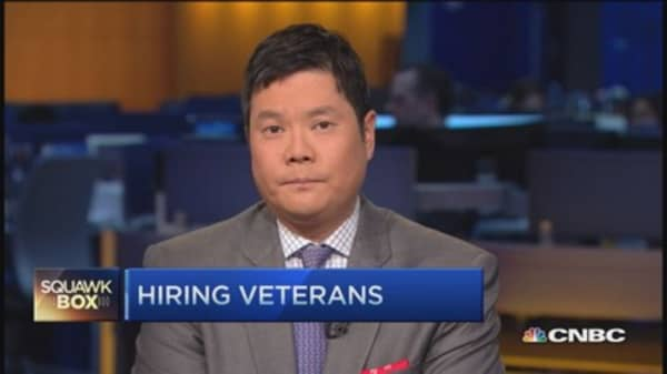 Hiring wounded veterans