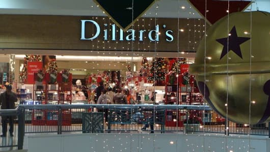 Dillard's department store.
