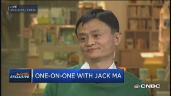 Jack Ma: Being rich is 'great pain'