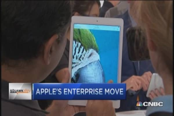 Apple's enterprise play