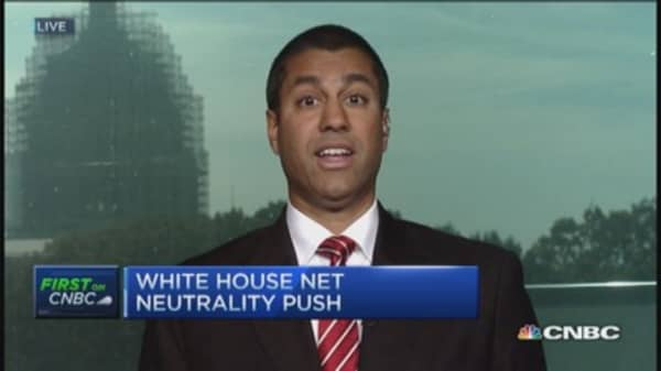 FCC: Incentivize broadband investment & innovation
