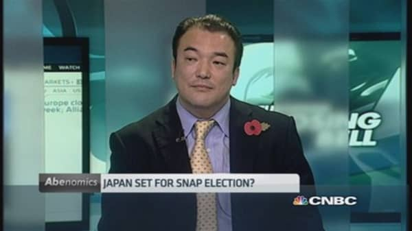Snap Election in Japan is possible: Pro