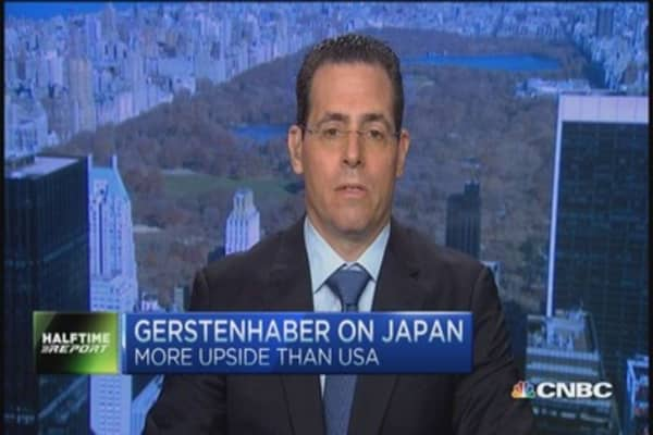 Gerstenhaber: Impressed with Japan