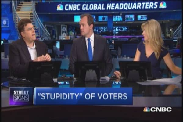 Obamacare slip: 'Stupidity' of voters