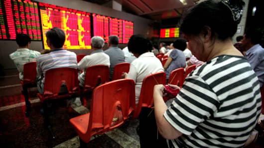 CHINA STOCKS BREAK
