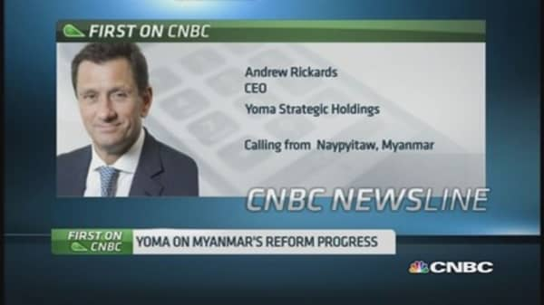 Yoma Strategic sees opportunities in Myanmar