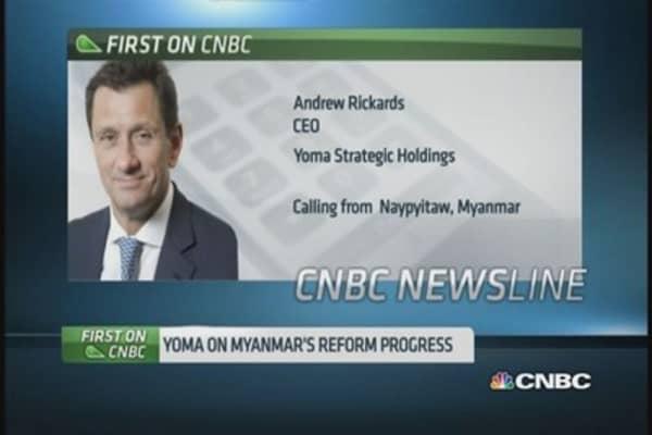Yoma Strategic sees opportunities in Myanmar