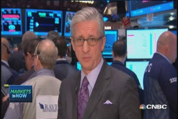 Pisani's market open: US stocks lower