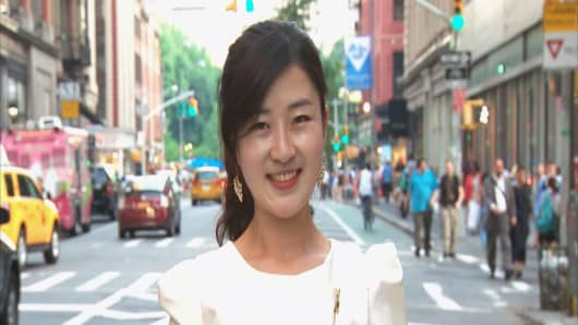 In 2010, Joo Yang defected from North Korea, where she learned about the outside world through radio reports.