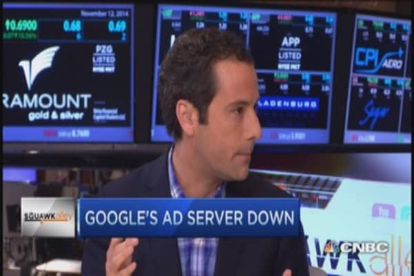 Google outage: Ads grind to halt
