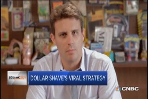 Dollar Shave's razor strategy
