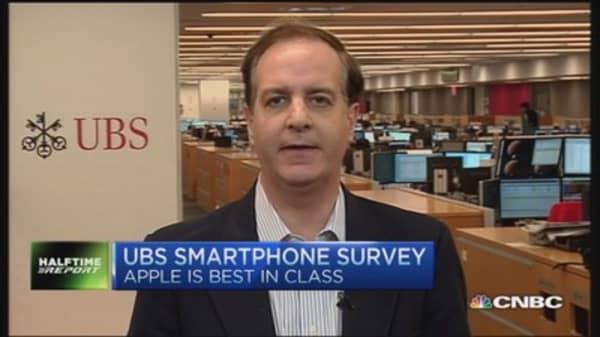 Apple best in class: UBS