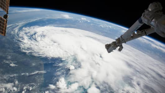 NASA weather International Space Station