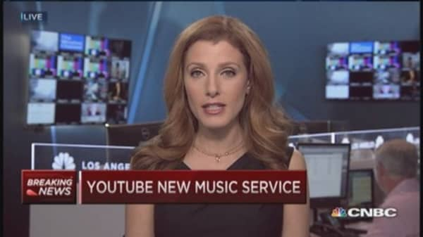 YouTube launches new music service