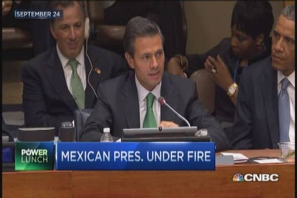 Scandal engulfs Mexican president