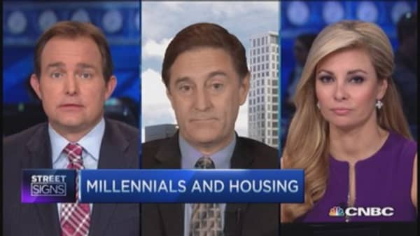 Housing recovery & blaming millennials