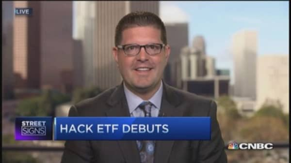 Make $ with cybersecurity ETF 'HACK'